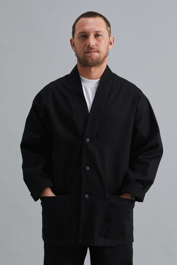 Ceramicist's Jacket - Black