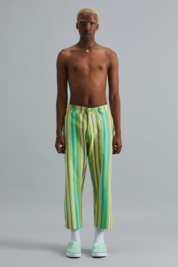 Cropped Trouser - SS21 - Kelp Forest