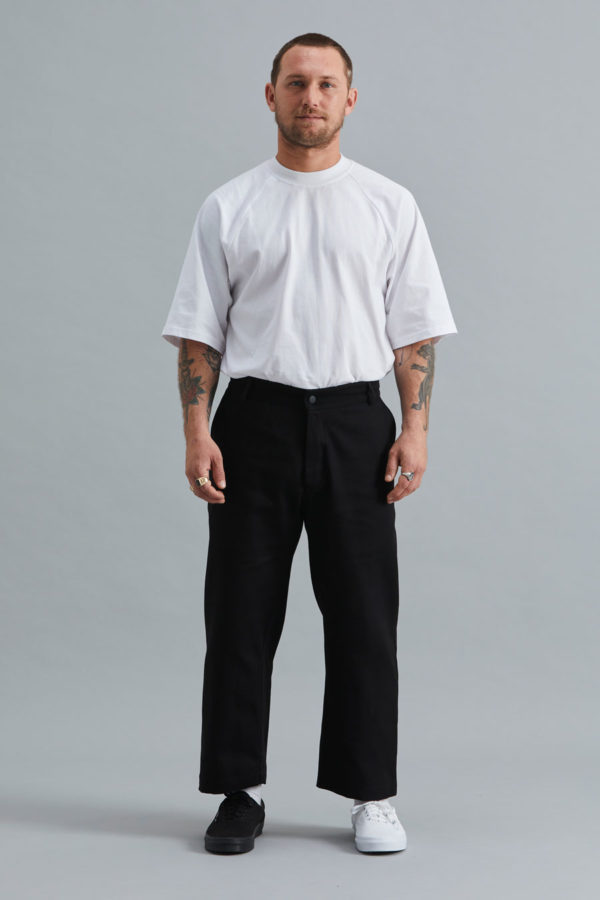 Cropped Trouser - Black