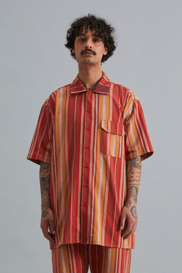 Short Sleeve Collar Shirt - SS21 - Sandstone