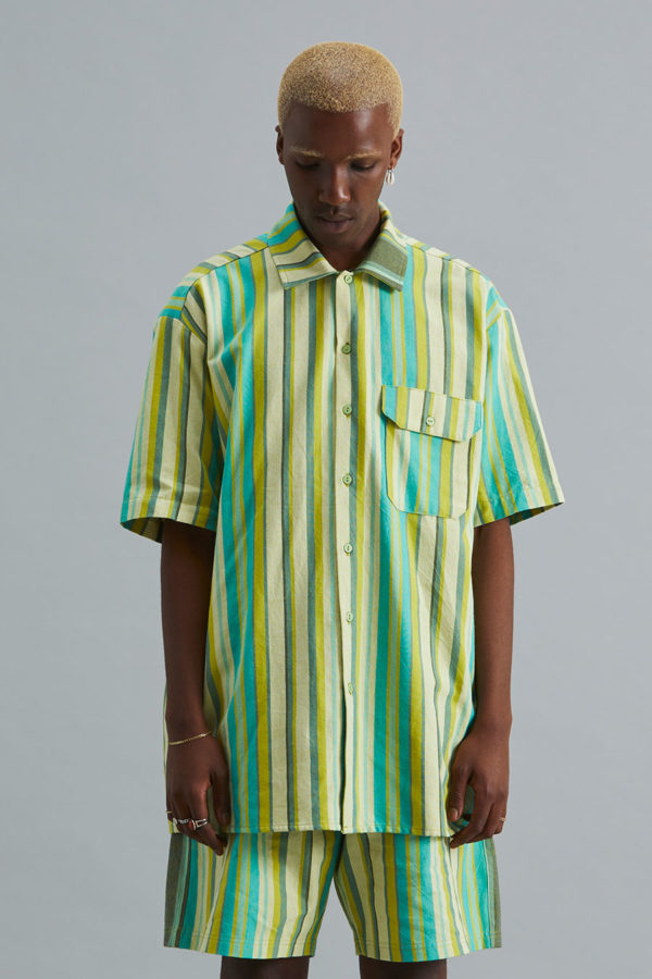 Short Sleeve Collar Shirt - SS21 - Kelp Forest