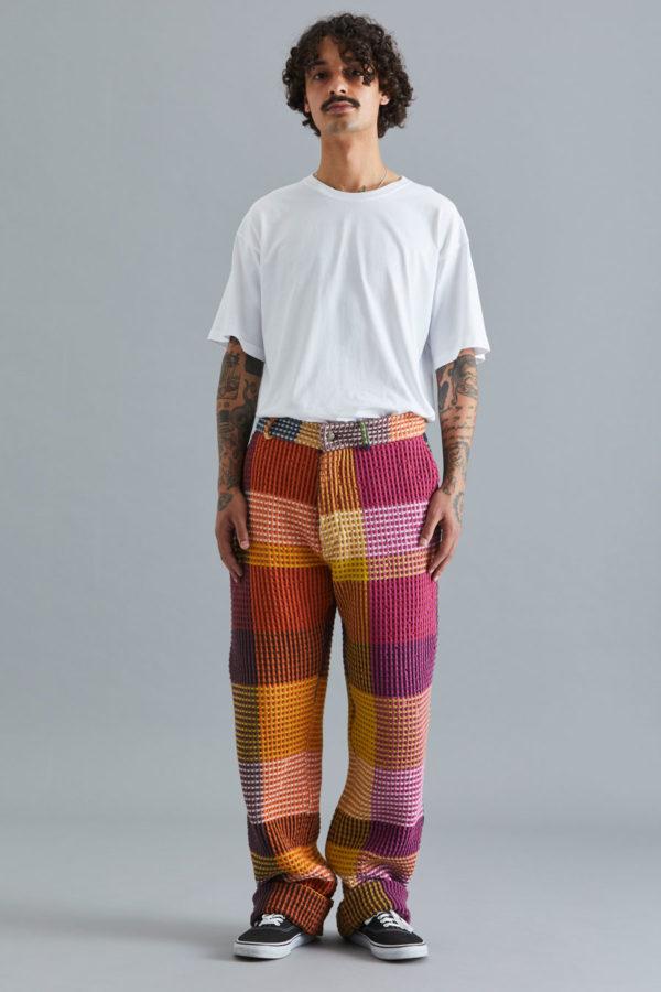 Vrou Vrou Work Wear Trousers - Magenta