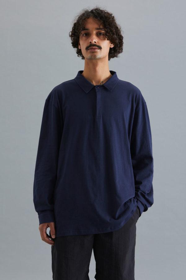 Long Sleeve Golfer - Navy