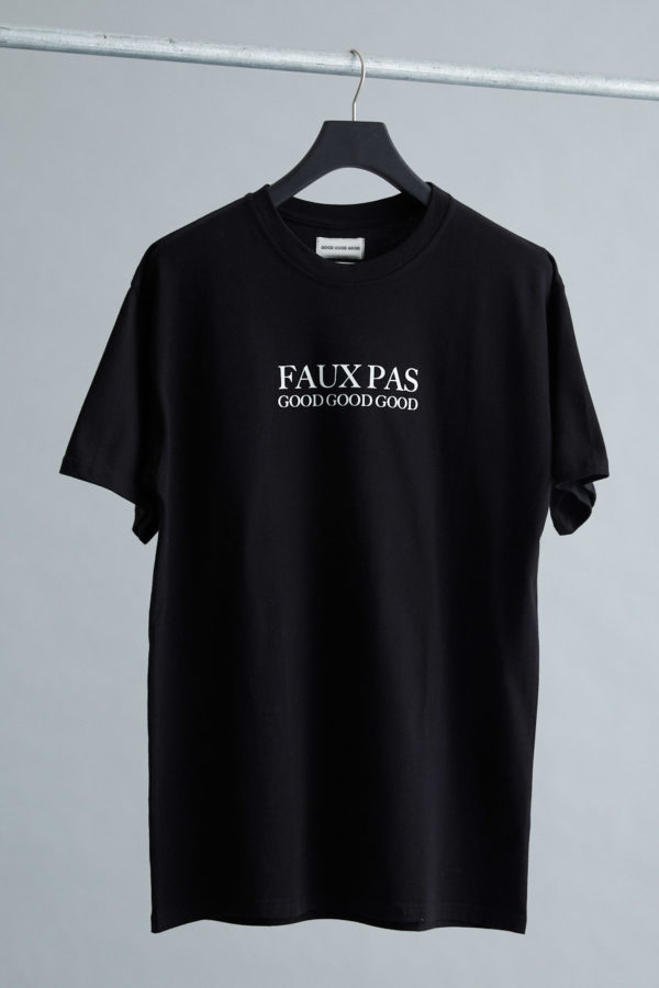 Box T-Shirt - April Fools' - IDGAF - Black