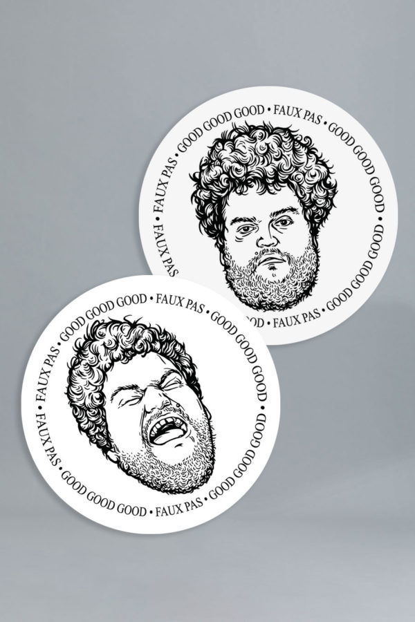 License Disk Stickers – 2 Pack – April Fools' – SOLD OUT